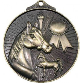 Horse Medal MD935 - Trophy Land