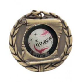 Netball Medal MD95-C911 - Trophy Land
