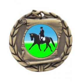 Horse Medal MD95-K100 - Trophy Land