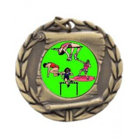 Athletics Medal MD95-K12 - Trophy Land