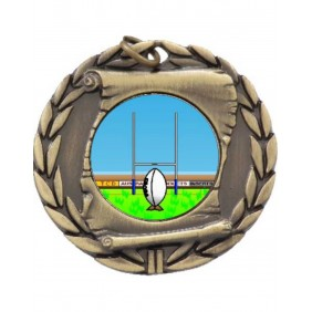Rugby Medal MD95-K137 - Trophy Land