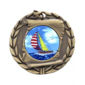 Sailing Medal MD95-K147 - Trophy Land