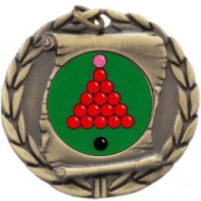 Snooker Medal MD95-K158 - Trophy Land
