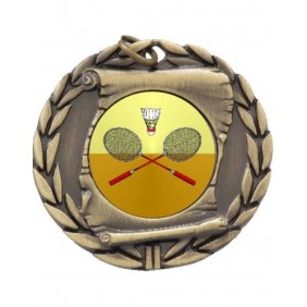Badminton Medal MD95-K23 - Trophy Land