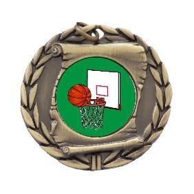 Basketball Medal MD95-K26 - Trophy Land