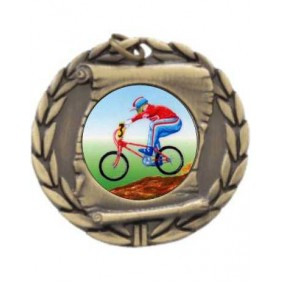 Cycling Medal MD95-K54 - Trophy Land
