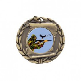 Paintball Medal MD95-PAIN01 - Trophy Land