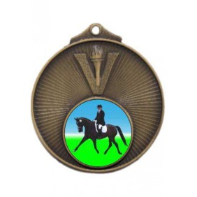 Horse Medal MD950-K100 - Trophy Land