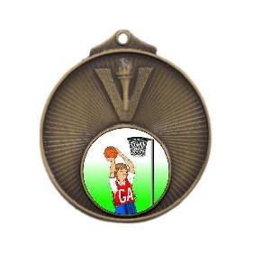 Netball Medal MD950-K123 - Trophy Land