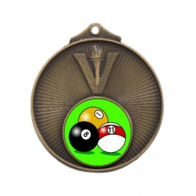 Snooker Medal MD950-K129 - Trophy Land