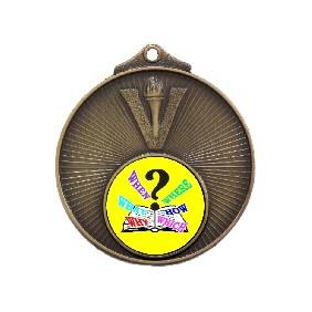 Trivia Medal MD950-K132 - Trophy Land
