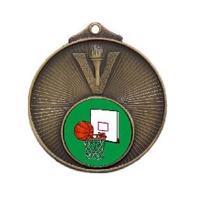 Basketball Medal MD950-K26 - Trophy Land