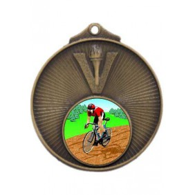 Cycling Medal MD950-K55 - Trophy Land