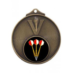 Darts Medal MD950-K68 - Trophy Land