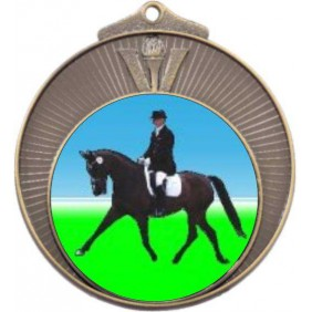 Horse Medal MD970-K100 - Trophy Land