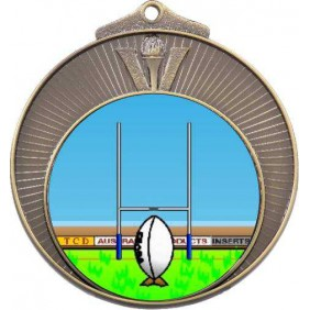 Rugby Medal MD970-K137 - Trophy Land