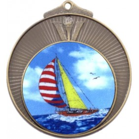Sailing Medal MD970-K147 - Trophy Land