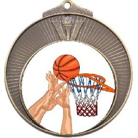 Basketball Medal MD970-K27 - Trophy Land