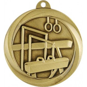 Gymnastics Medal ME914G - Trophy Land
