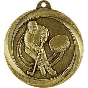 Ice Hockey Medal ME922G - Trophy Land