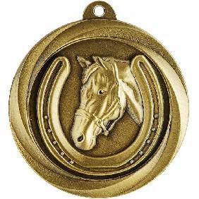 Horse Medal ME935G - Trophy Land