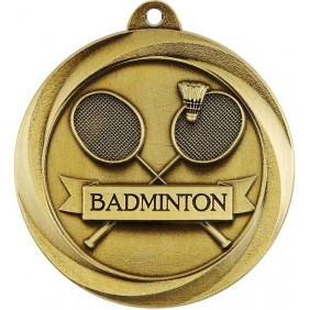 Badminton Medal ME946G - Trophy Land
