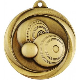 Lawn Bowls Medal ME983G - Trophy Land