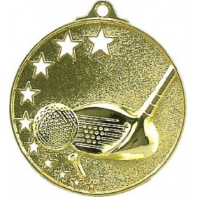 Golf Medal MH909 - Trophy Land