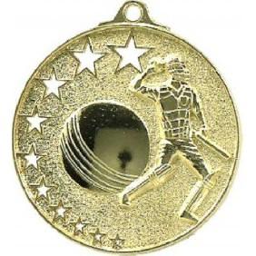 Cricket Medal MH910 - Trophy Land