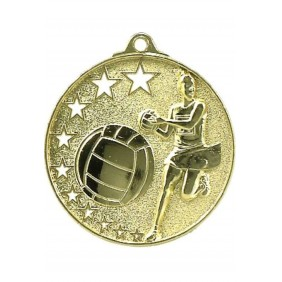 Netball Medal MH911 - Trophy Land
