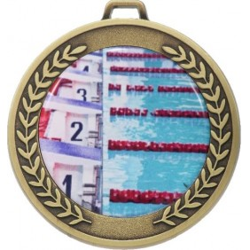 Swimming Medal MJ50-C201 - Trophy Land