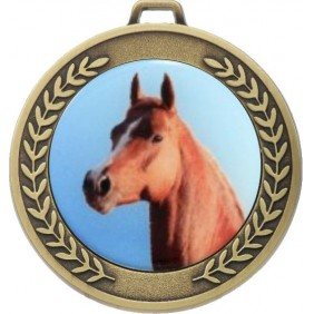 Horse Medal MJ50-C351 - Trophy Land
