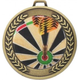 Darts Medal MJ50-C381 - Trophy Land