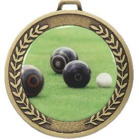 Lawn Bowls Medal MJ50-C831 - Trophy Land