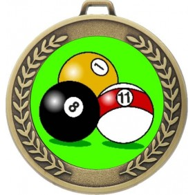 Snooker Medal MJ50-K129 - Trophy Land