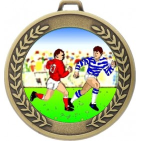 Rugby Medal MJ50-K136 - Trophy Land