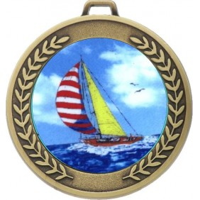 Sailing Medal MJ50-K147 - Trophy Land