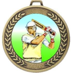 Cricket Medal MJ50-K48 - Trophy Land