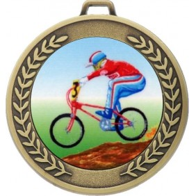 Cycling Medal MJ50-K54 - Trophy Land