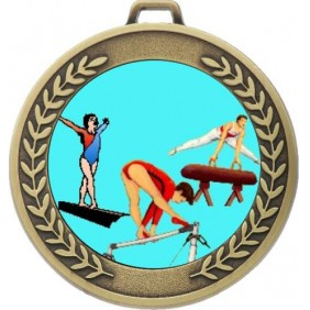 Gymnastics Medal MJ50-K92 - Trophy Land