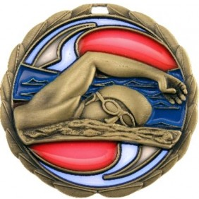 Swimming Medal MS902 - Trophy Land