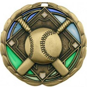 Baseball Softball Medal MS903G - Trophy Land