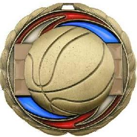 Basketball Medal MS907 - Trophy Land