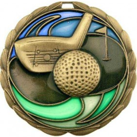 Golf Medal MS909G - Trophy Land