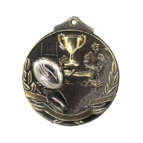Rugby Medal MT913 - Trophy Land