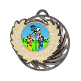 Netball Medal MV950-K122 - Trophy Land