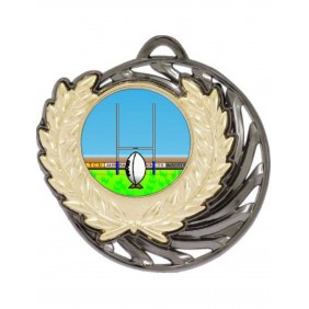 Rugby Medal MV950-K137 - Trophy Land