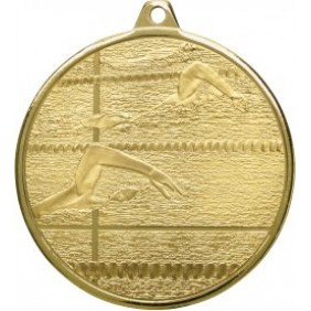 Swimming Medal MZ902G - Trophy Land