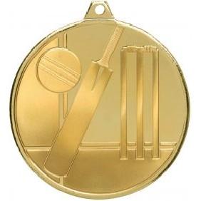 Cricket Medal MZ910G - Trophy Land