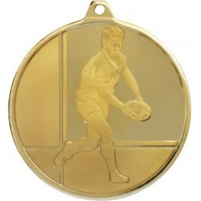 Rugby Medal MZ913G - Trophy Land